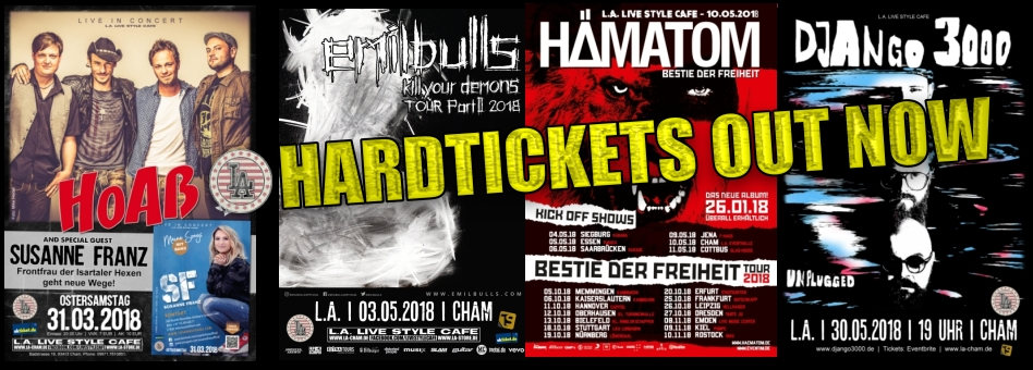 Neue HardTickets am Start!